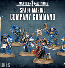 Warhammer 40K Space Marine Company Command