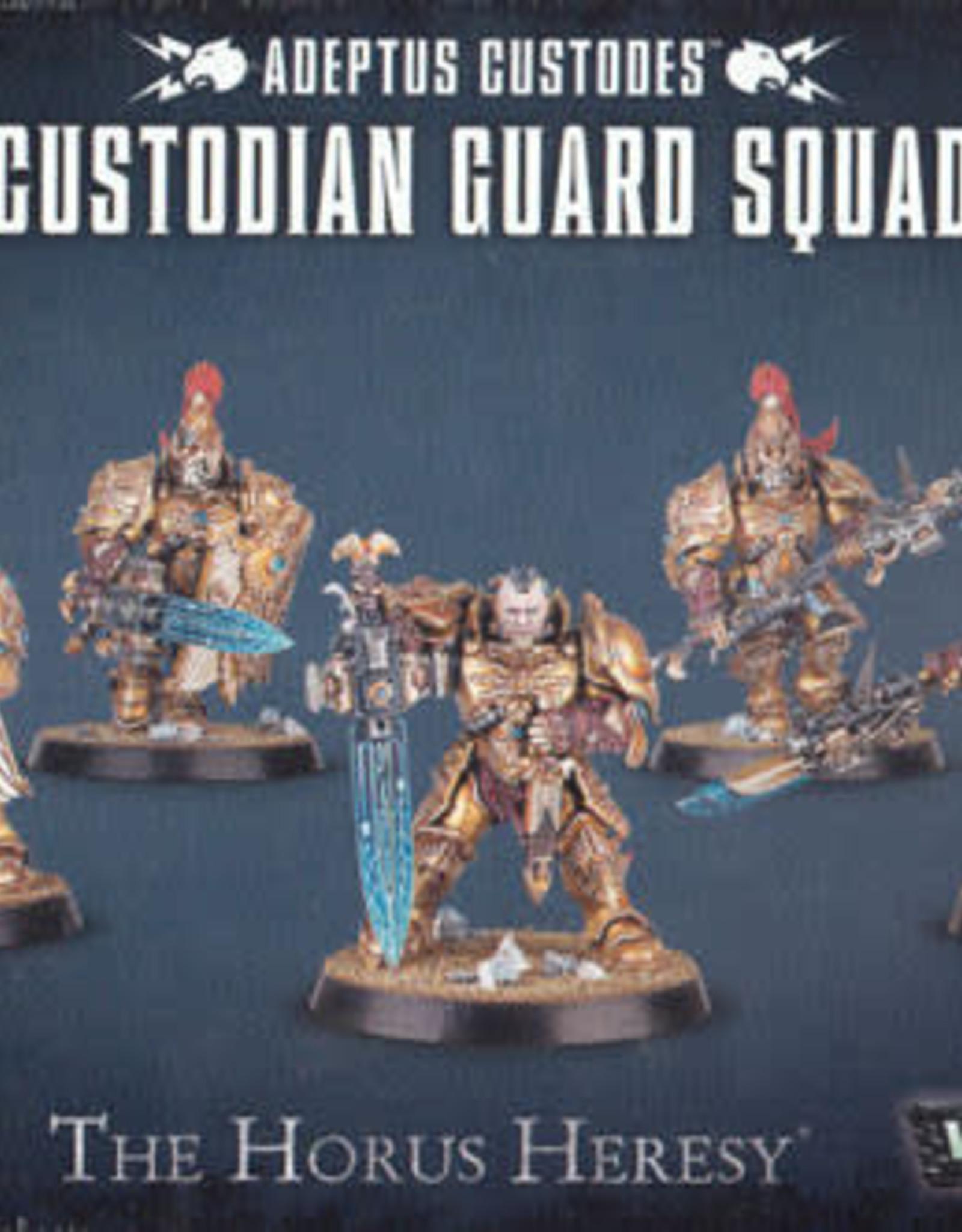 Warhammer 40K Adeptus Custodes Custodian Guard