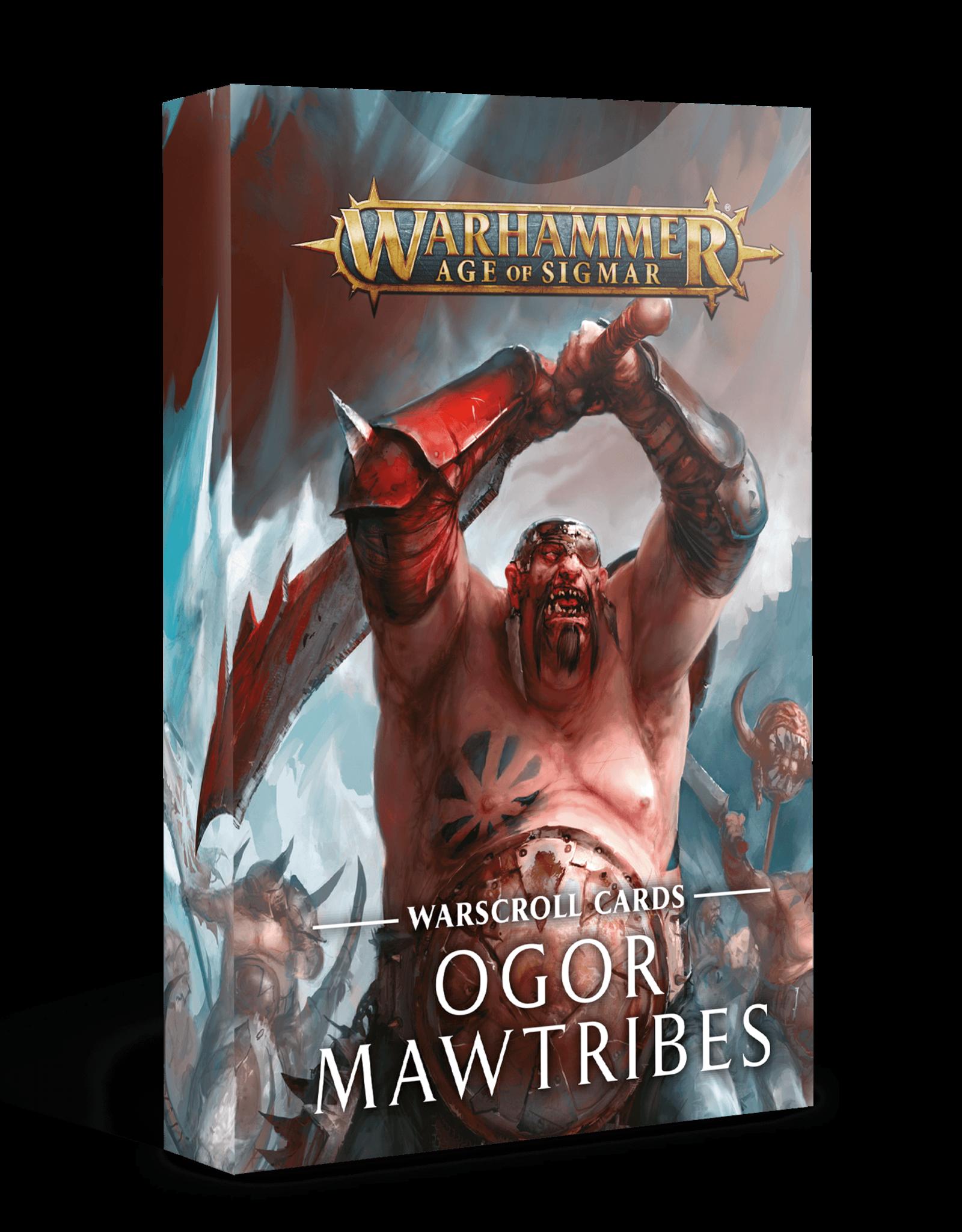 Age of Sigmar Warscroll Cards: Ogor Mawtribes