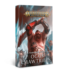 Age of Sigmar Warscroll Cards: Ogor Mawtribes