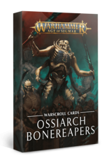 Age of Sigmar Warscroll Cards: Ossiarch Bonereapers