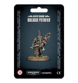 Warhammer 40K Death Guard Biologus Putrifier