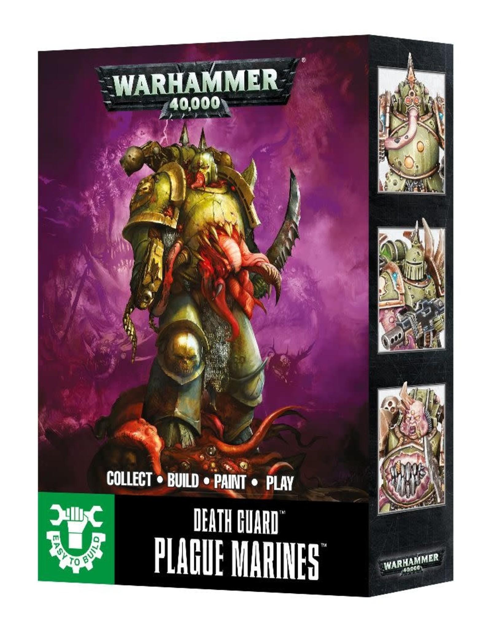 Warhammer 40K ETB: Death Guard Plague Marines