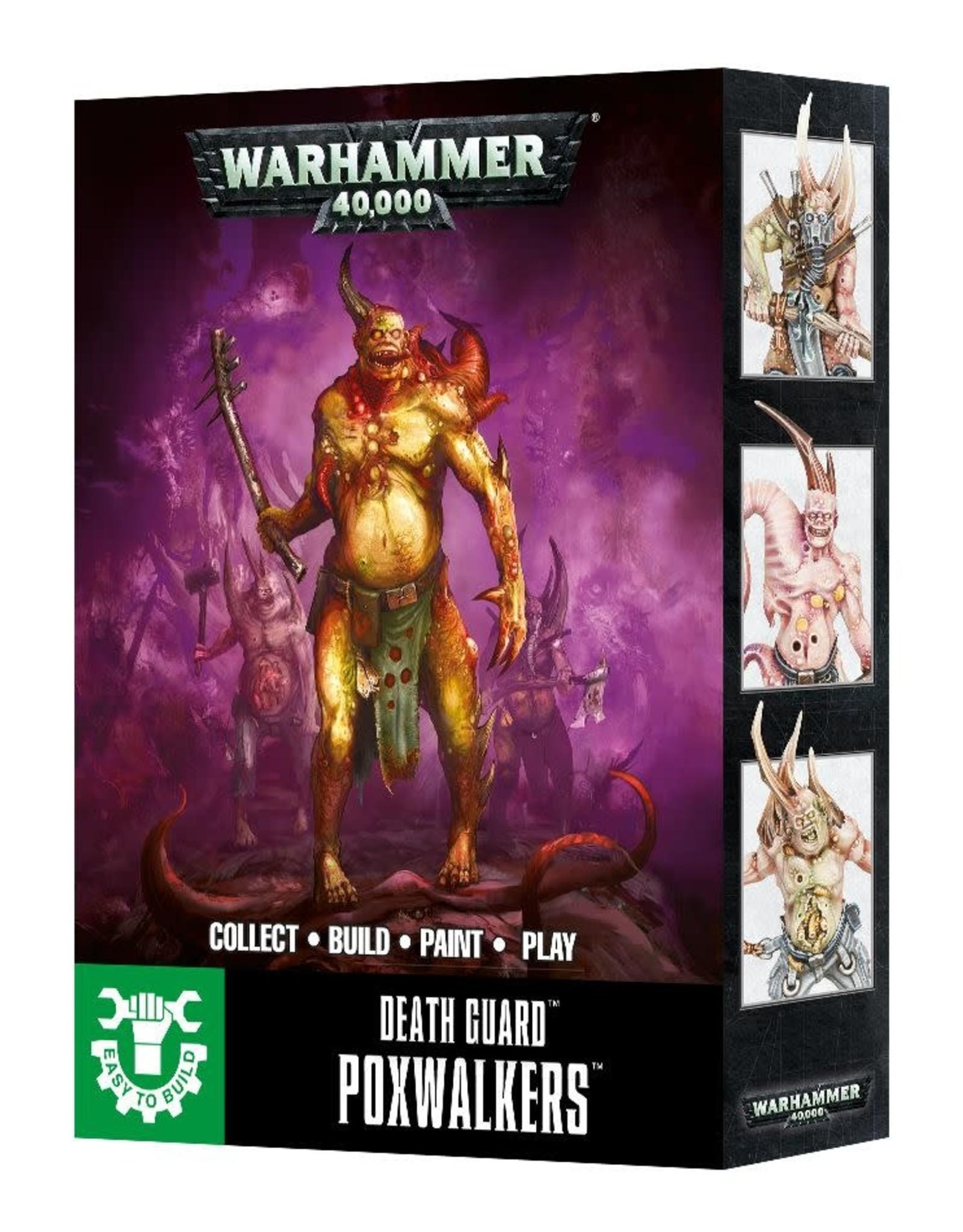 Warhammer 40K ETB: Death Guard Poxwalkers