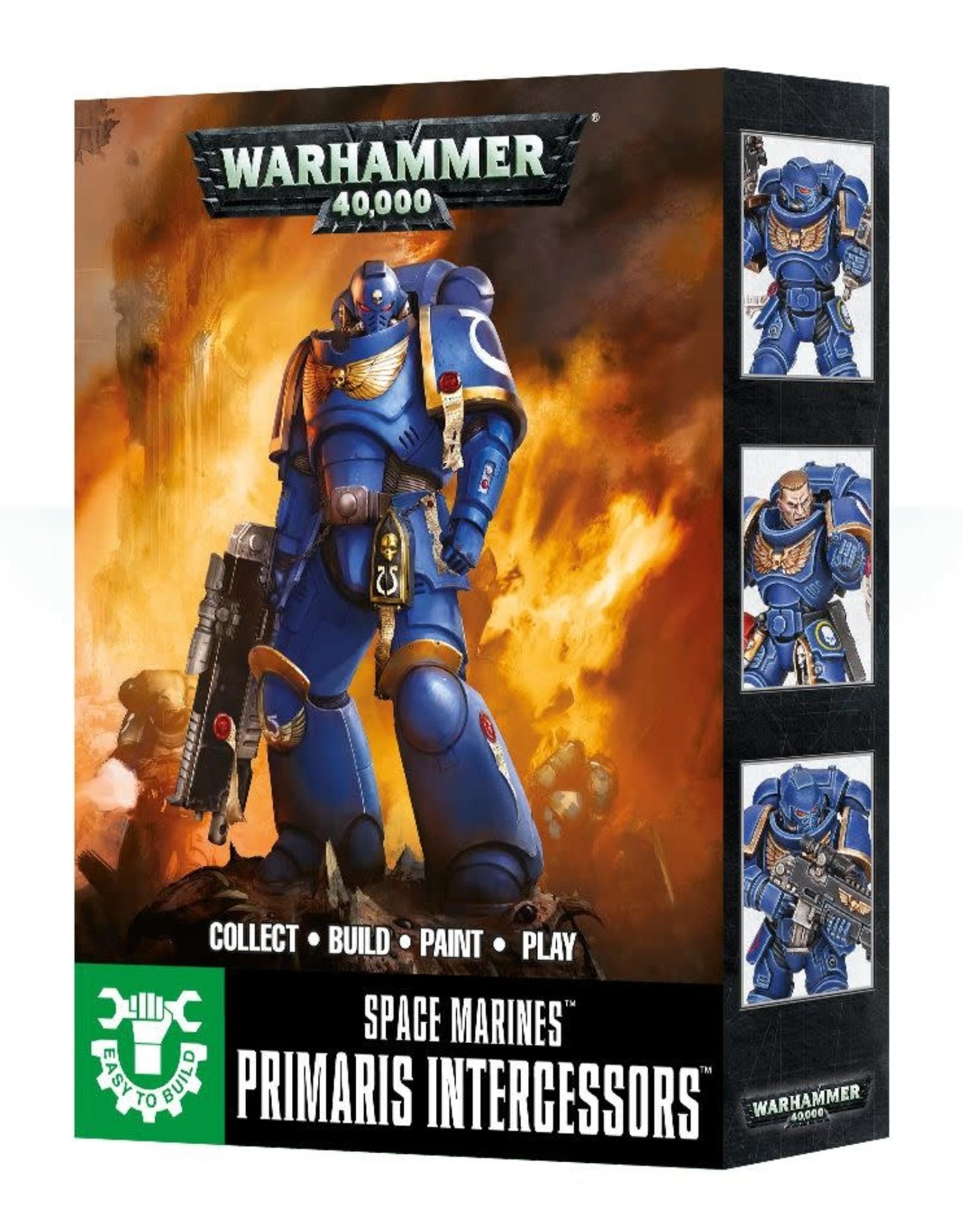 Warhammer 40K ETB: Space Marines Primaris Intercessor
