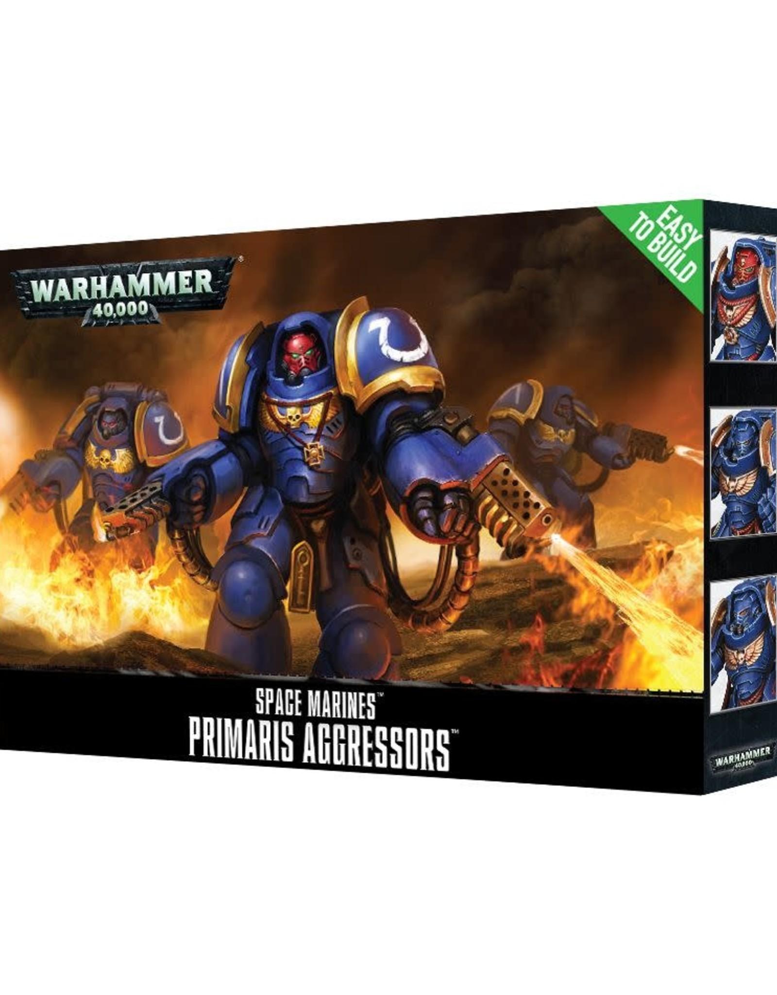 Warhammer 40K ETB: Space Marines Primaris Aggressor