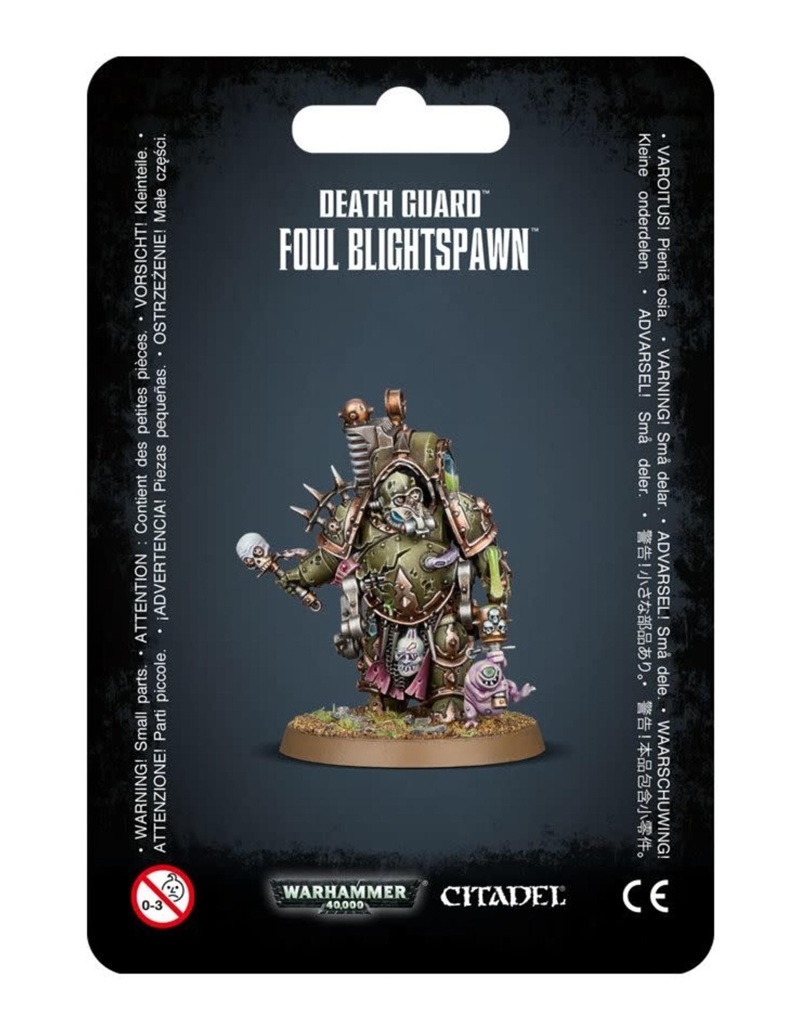 Warhammer 40K Death Guard Foul Blightspawn