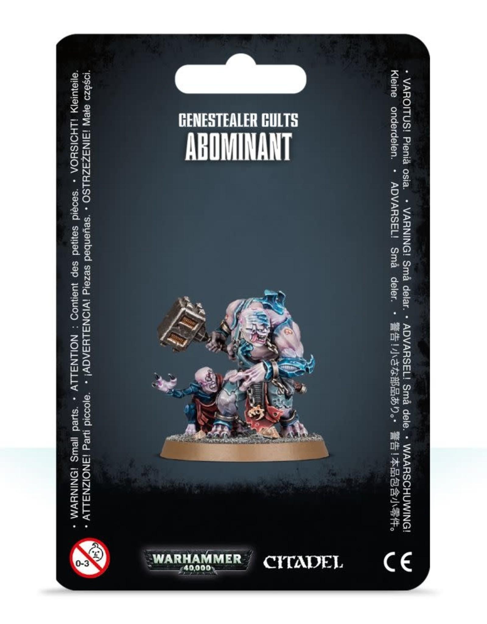 Warhammer 40K Genestealer Cults Abominant
