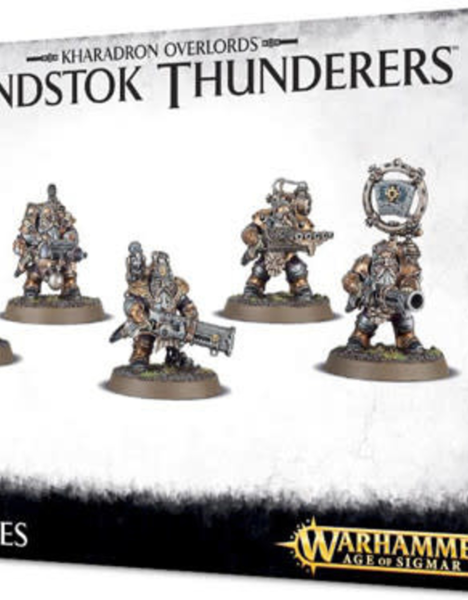 Age of Sigmar Kharadron Overlords Grundstock Thunderers