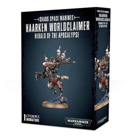 Warhammer 40K Haarken Worldclaimer, Herald of the Apocalypse