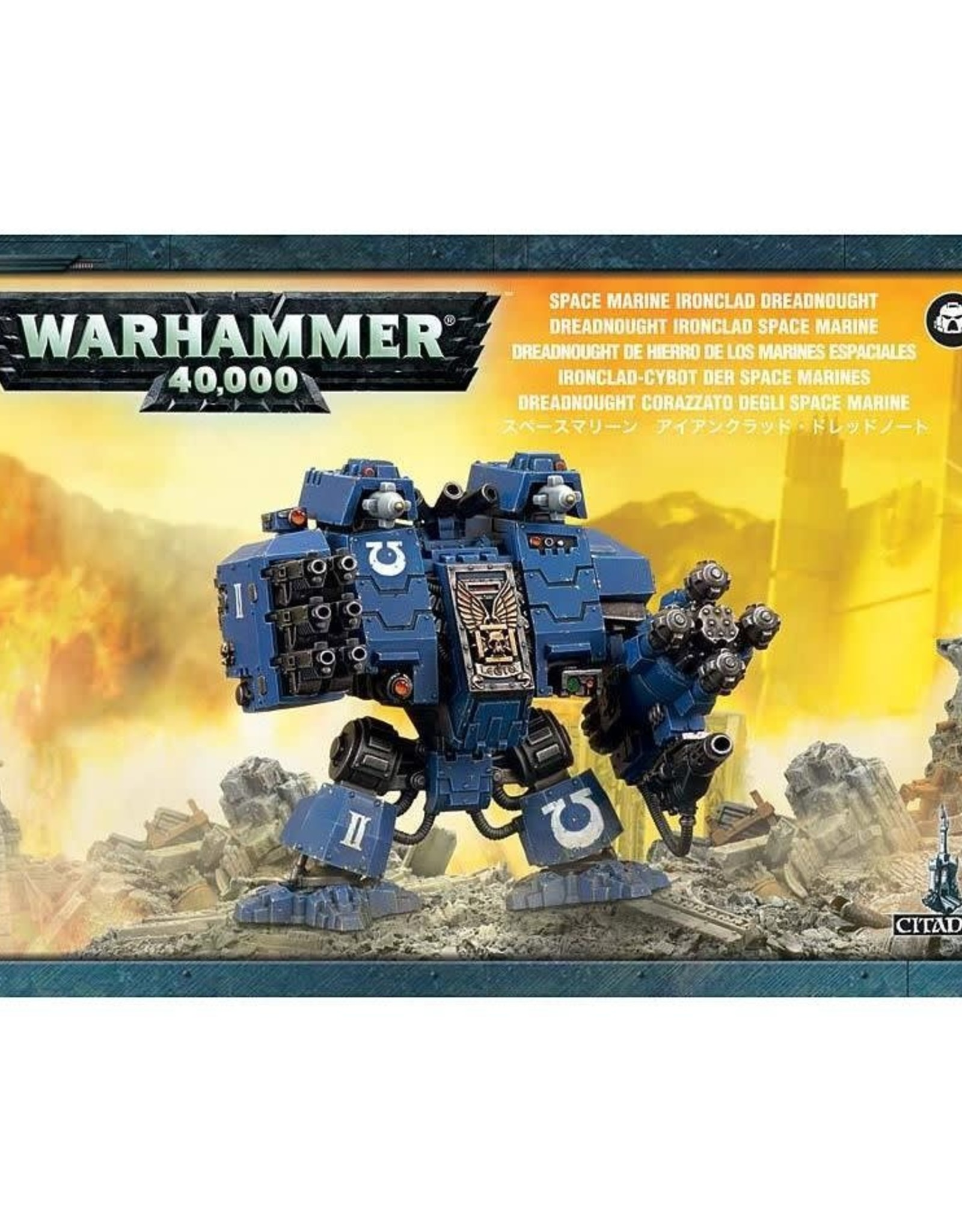 Warhammer 40K Space Marine Ironclad Dreadnought