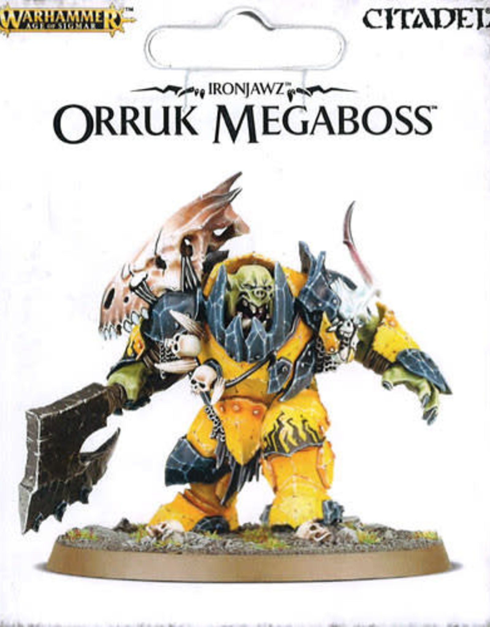 Age of Sigmar Ironjawz Orruk Megaboss