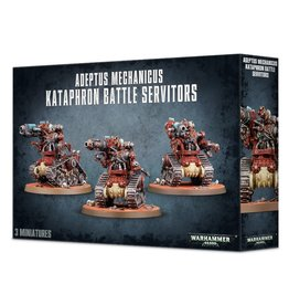 Warhammer 40K Adeptus Mechanicus Kataphron Battle Servitors Breachers/Destroyers