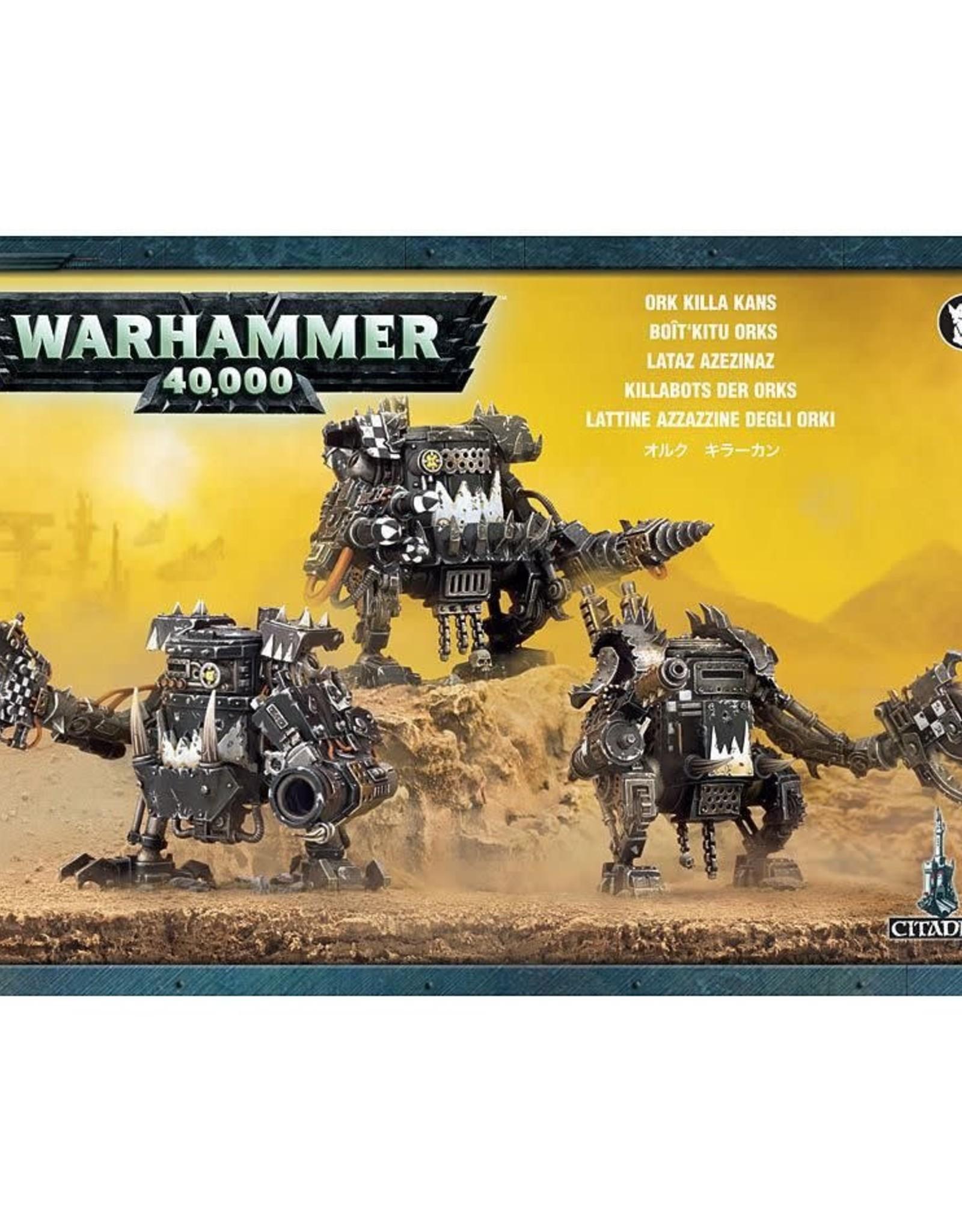 Warhammer 40K Ork Killa Kans
