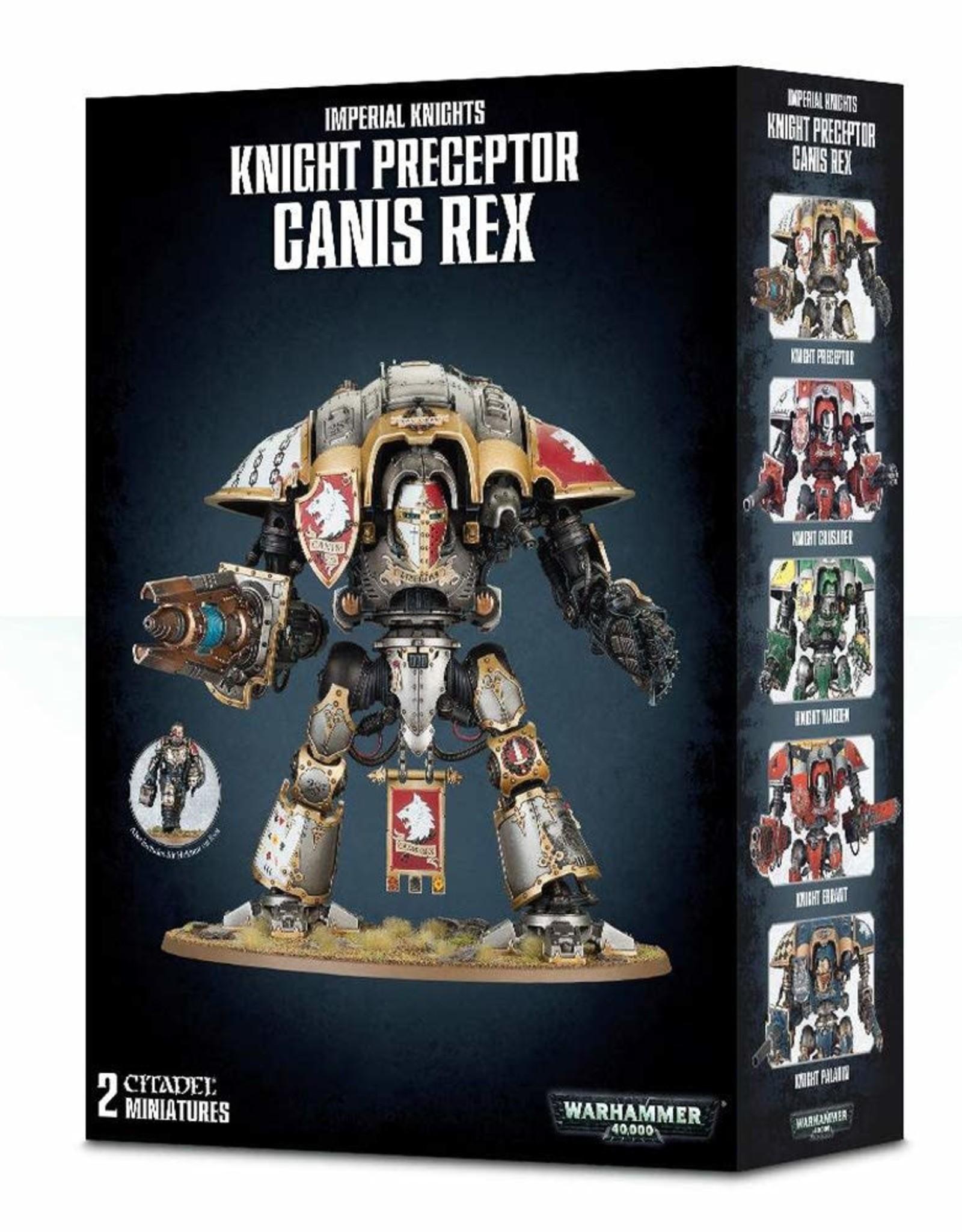 Warhammer 40K Knight Preceptor Canis Rex