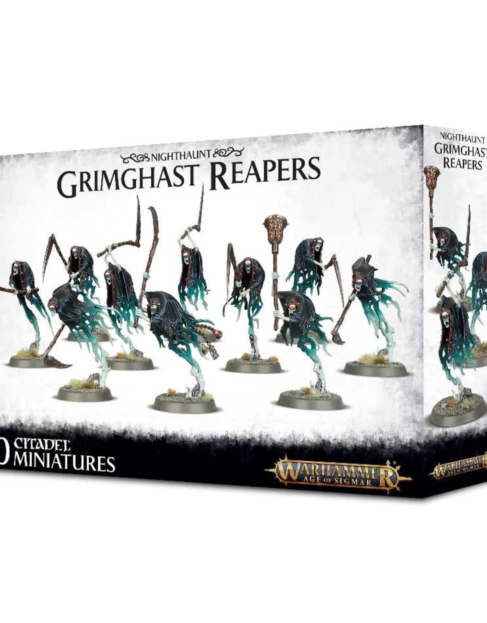 Age of Sigmar Nighthaunt Grimghast Reapers
