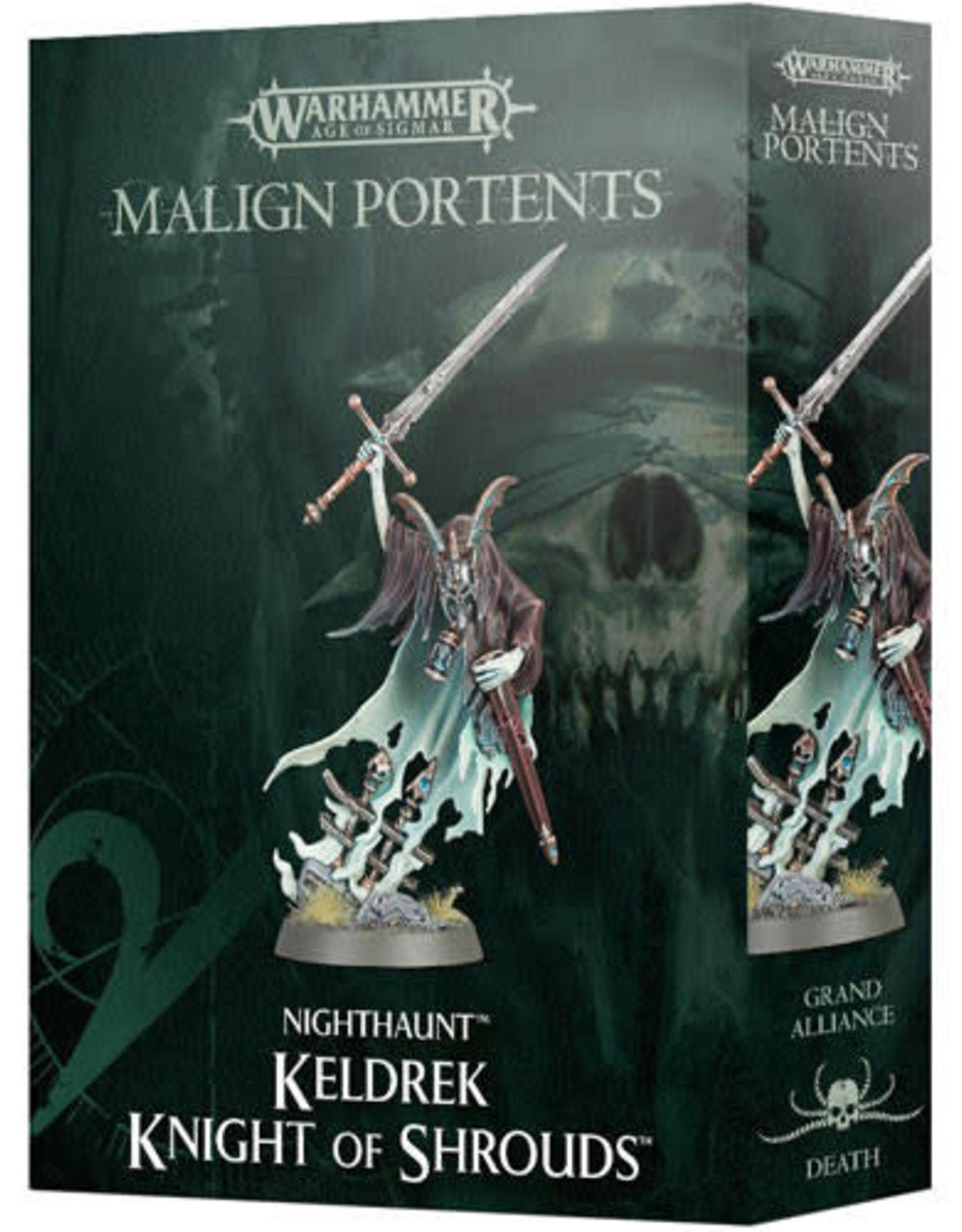 Age of Sigmar Nighthaunt: Keldrek Knight of Shrouds