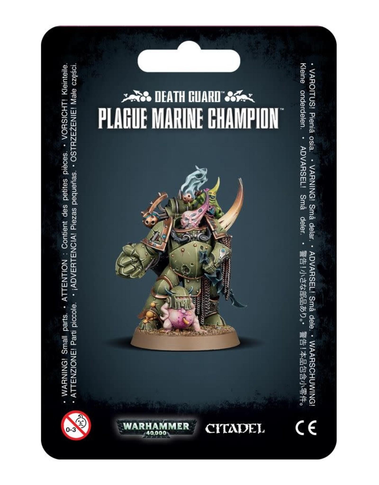 Warhammer 40K Death Guard Plague Marine Champion