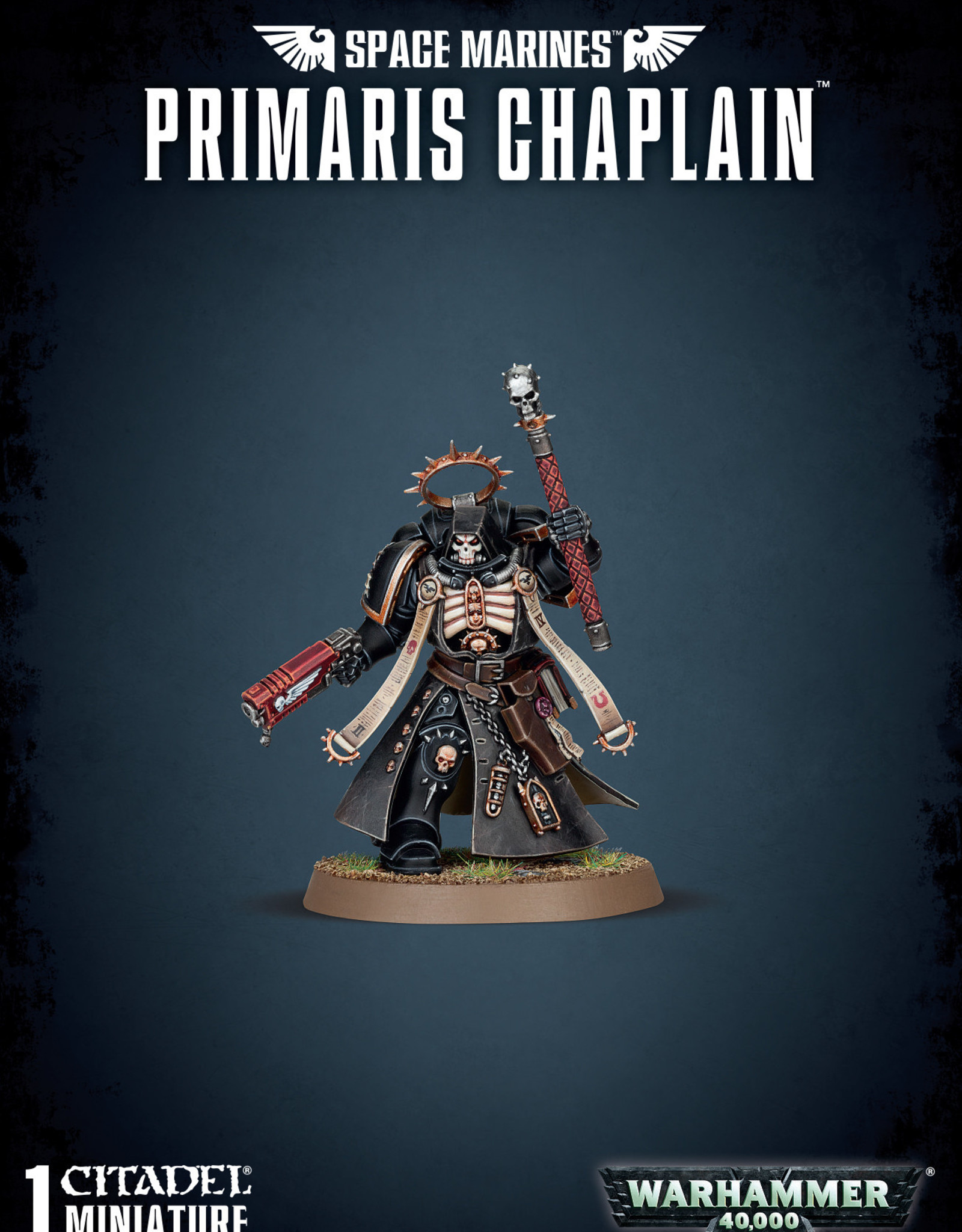 Warhammer 40K Space Marine Primaris Chaplain