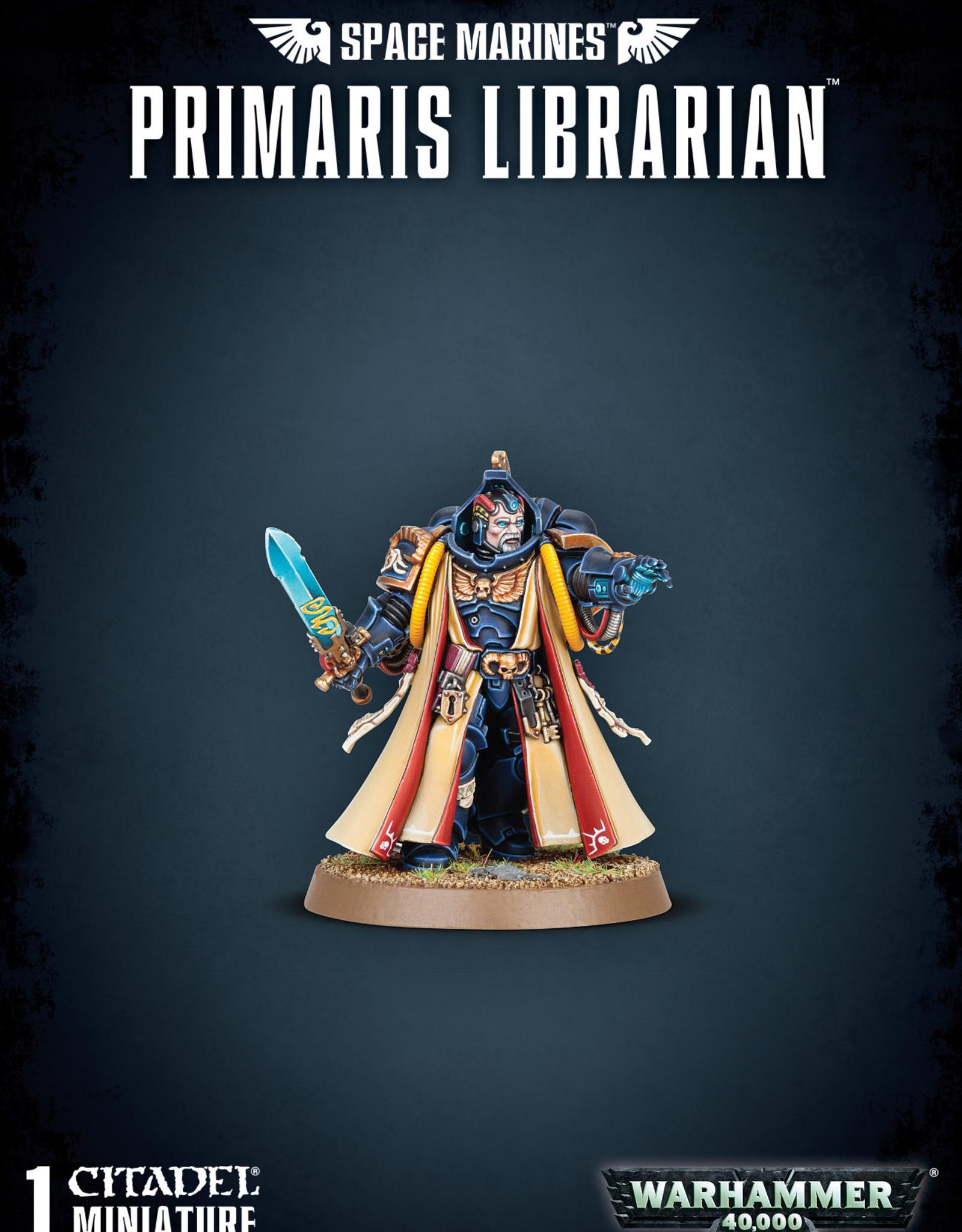 Warhammer 40K Space Marine Primaris Librarian