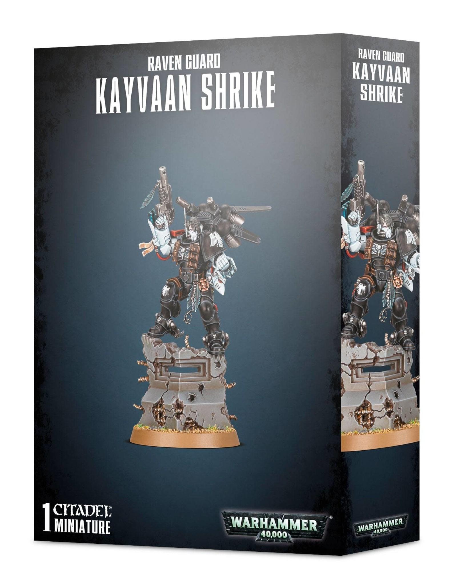 Warhammer 40K Raven Guard Kayvaan Shrike