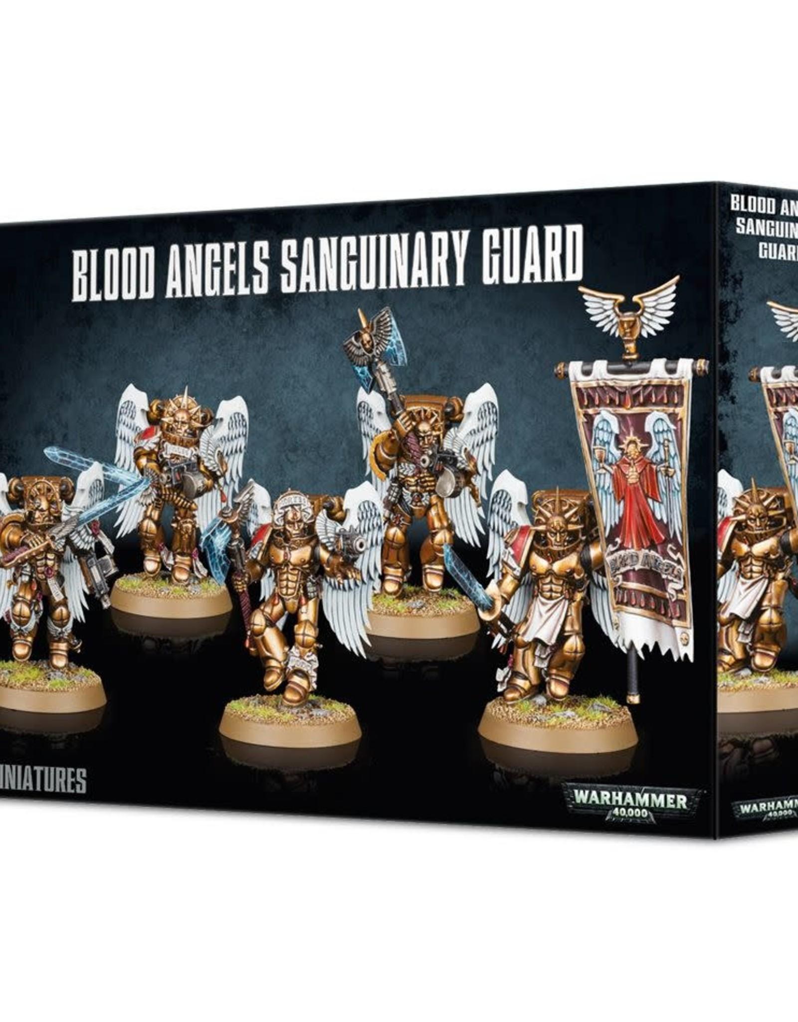 Warhammer 40K Blood Angels Sanguinary Guard