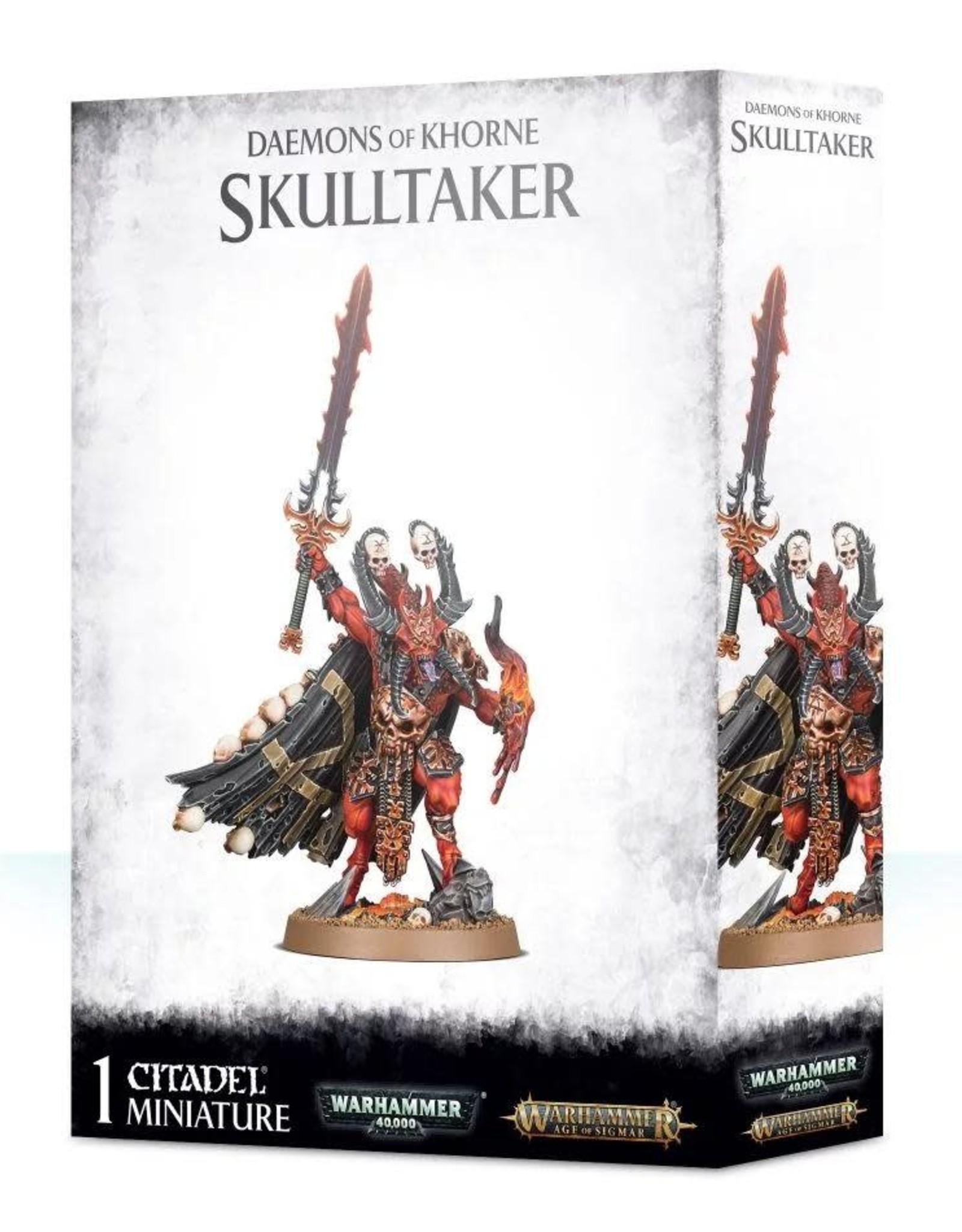 Daemons of Khorne Skulltaker