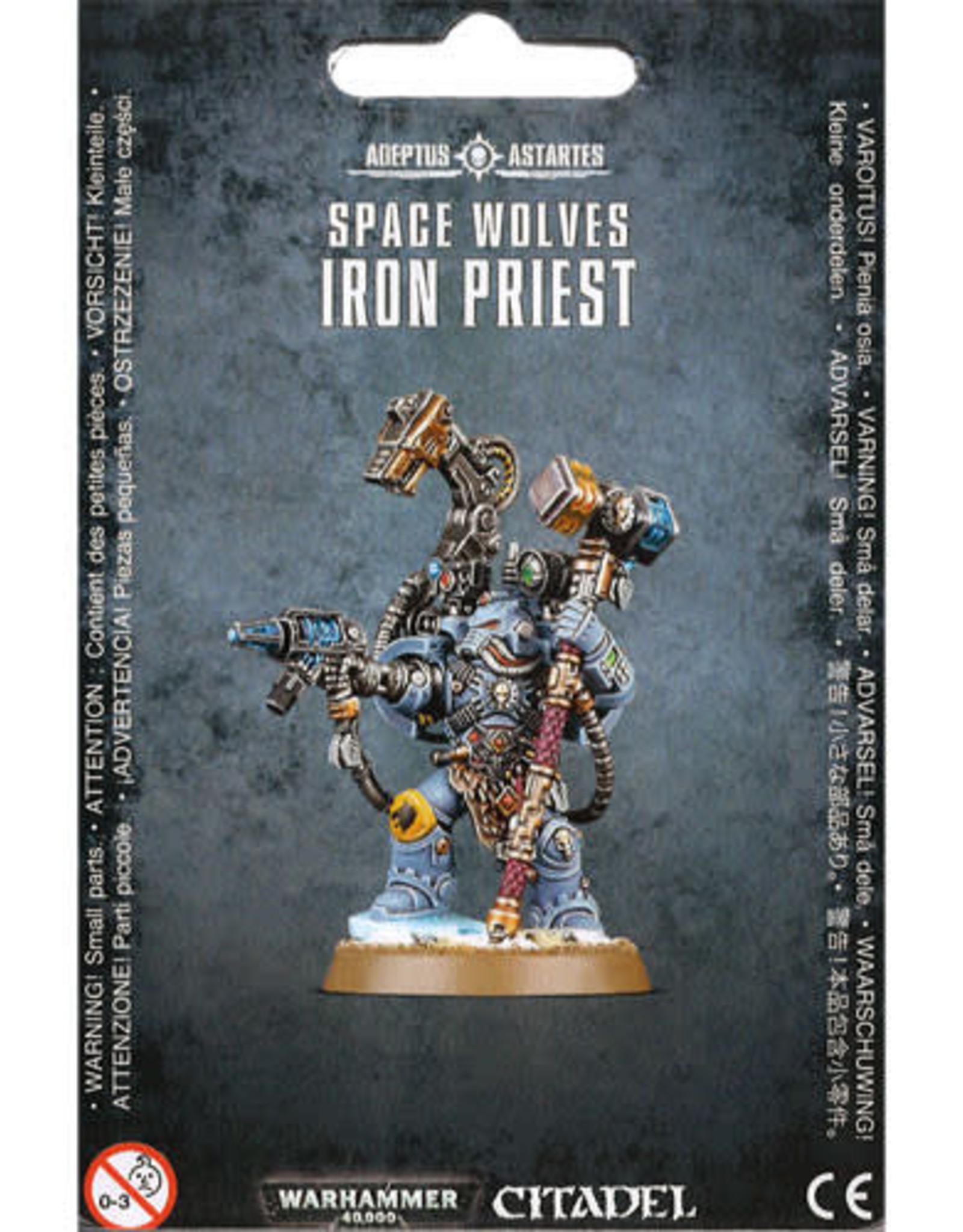 Warhammer 40K Space Wolves Iron Priest