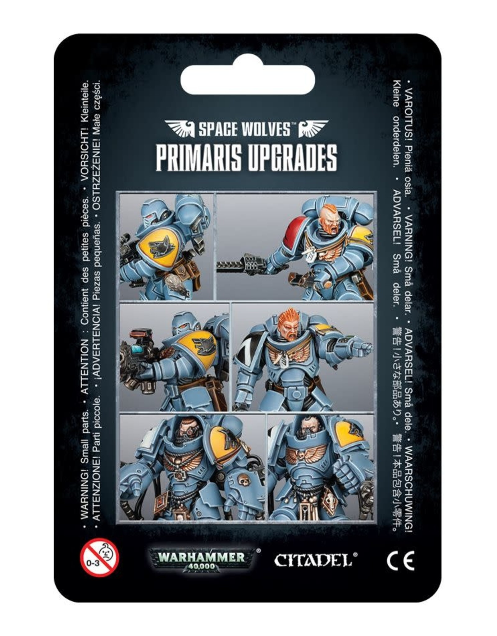 Warhammer 40K Space Wolves Primaris Upgrades