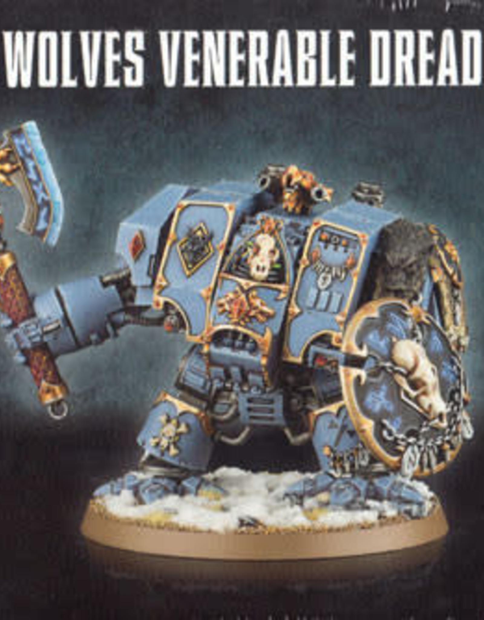 Warhammer 40K Space Wolves Venerable Dreadnought