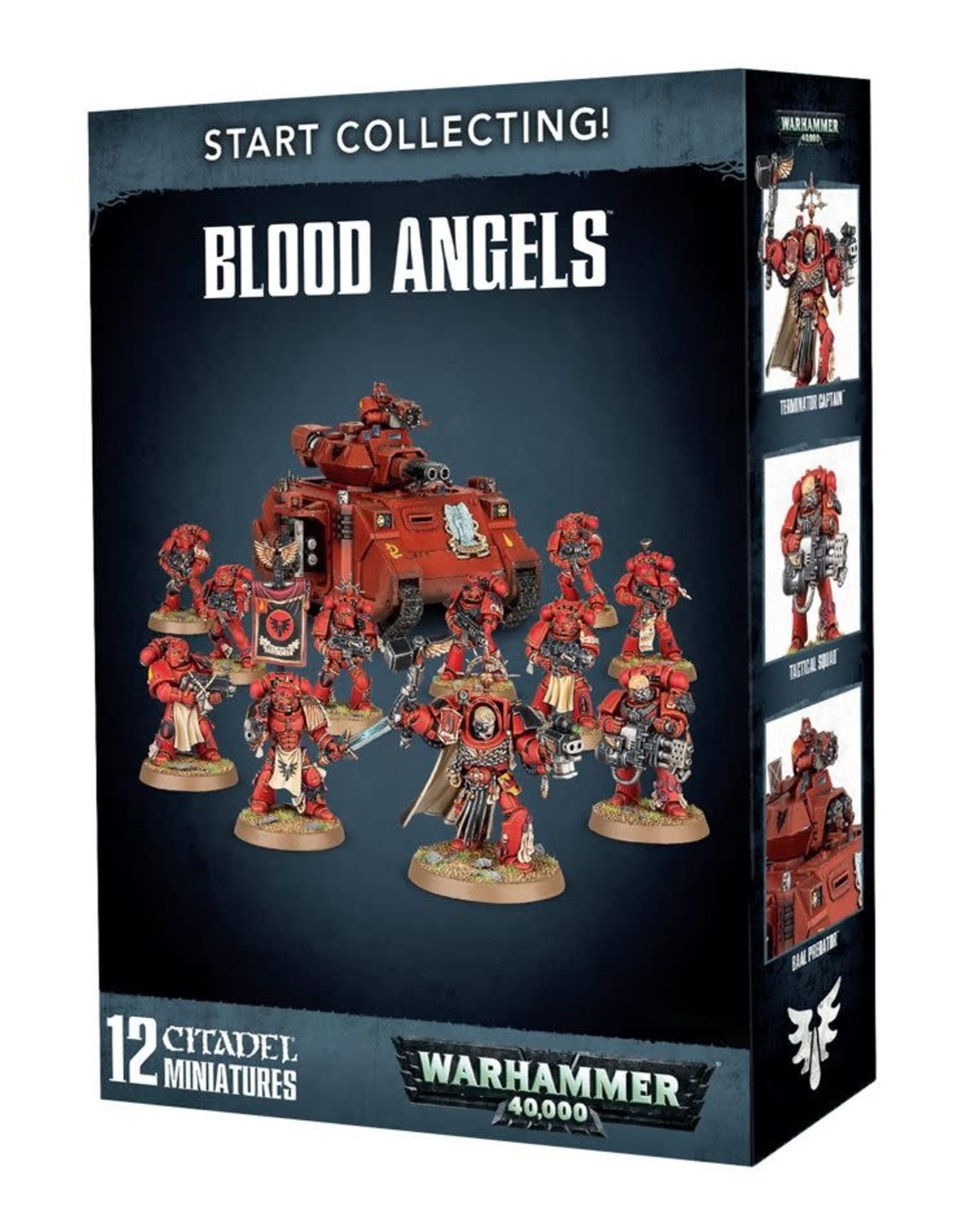 Warhammer 40K Start Collecting! Blood Angels
