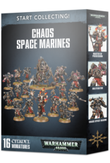 Warhammer 40K Start Collecting! Chaos Space Marines