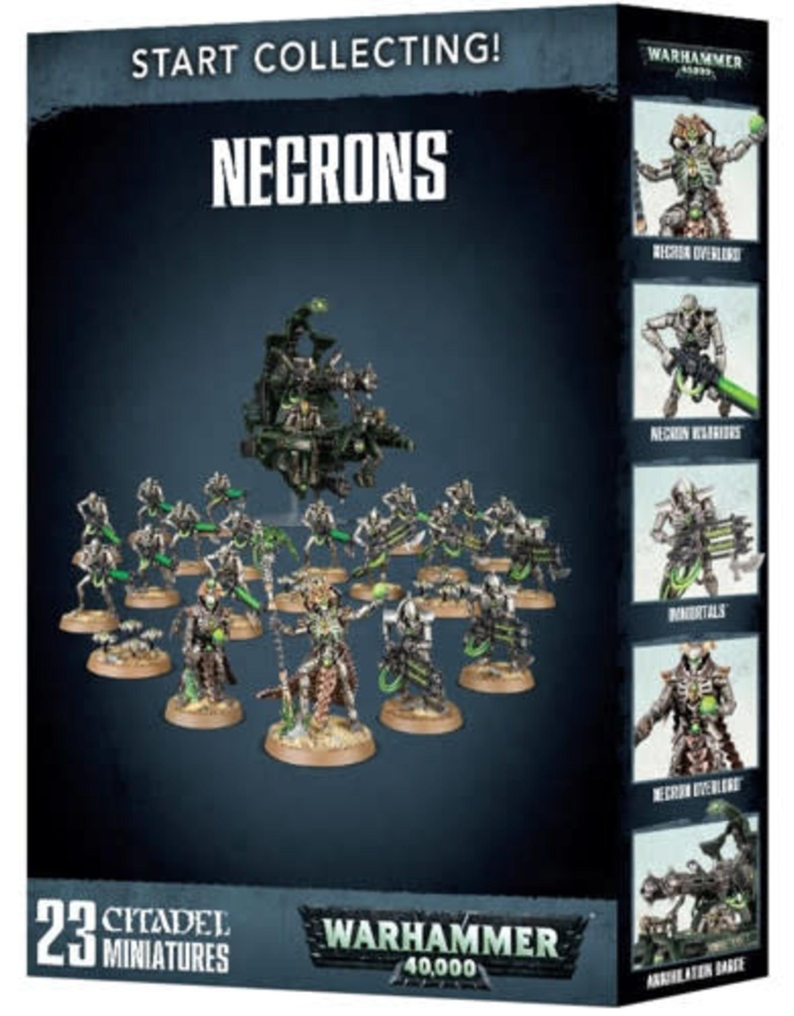 Warhammer 40K Start Collecting! Necrons