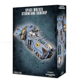 Warhammer 40K Space Wolves Stormfang Gunship/Stormwolf