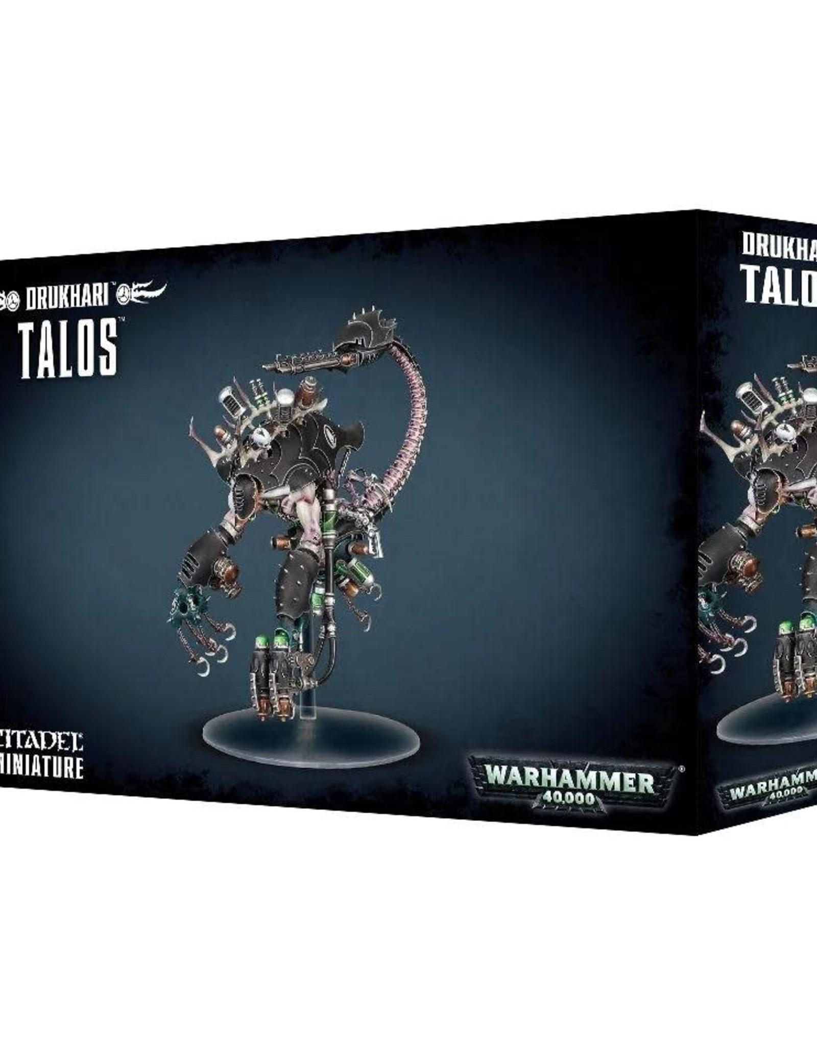 Warhammer 40K Drukhari Talos/Cronos