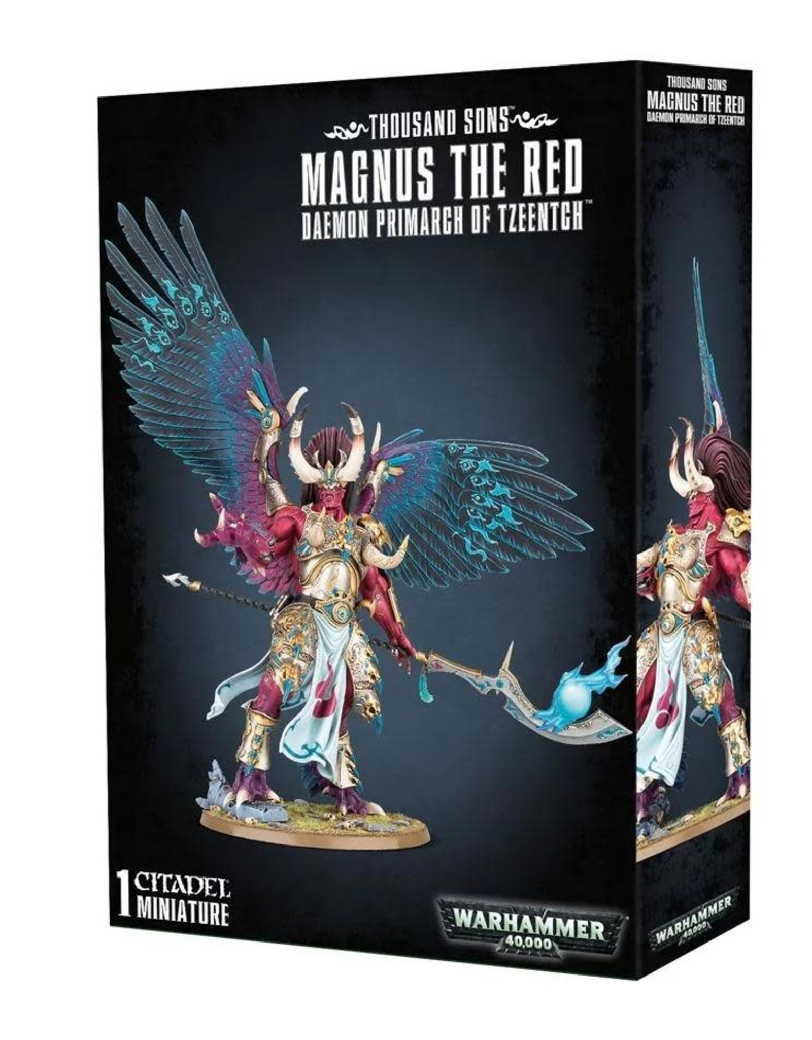 Warhammer 40K Thousand Sons Magnus The Red