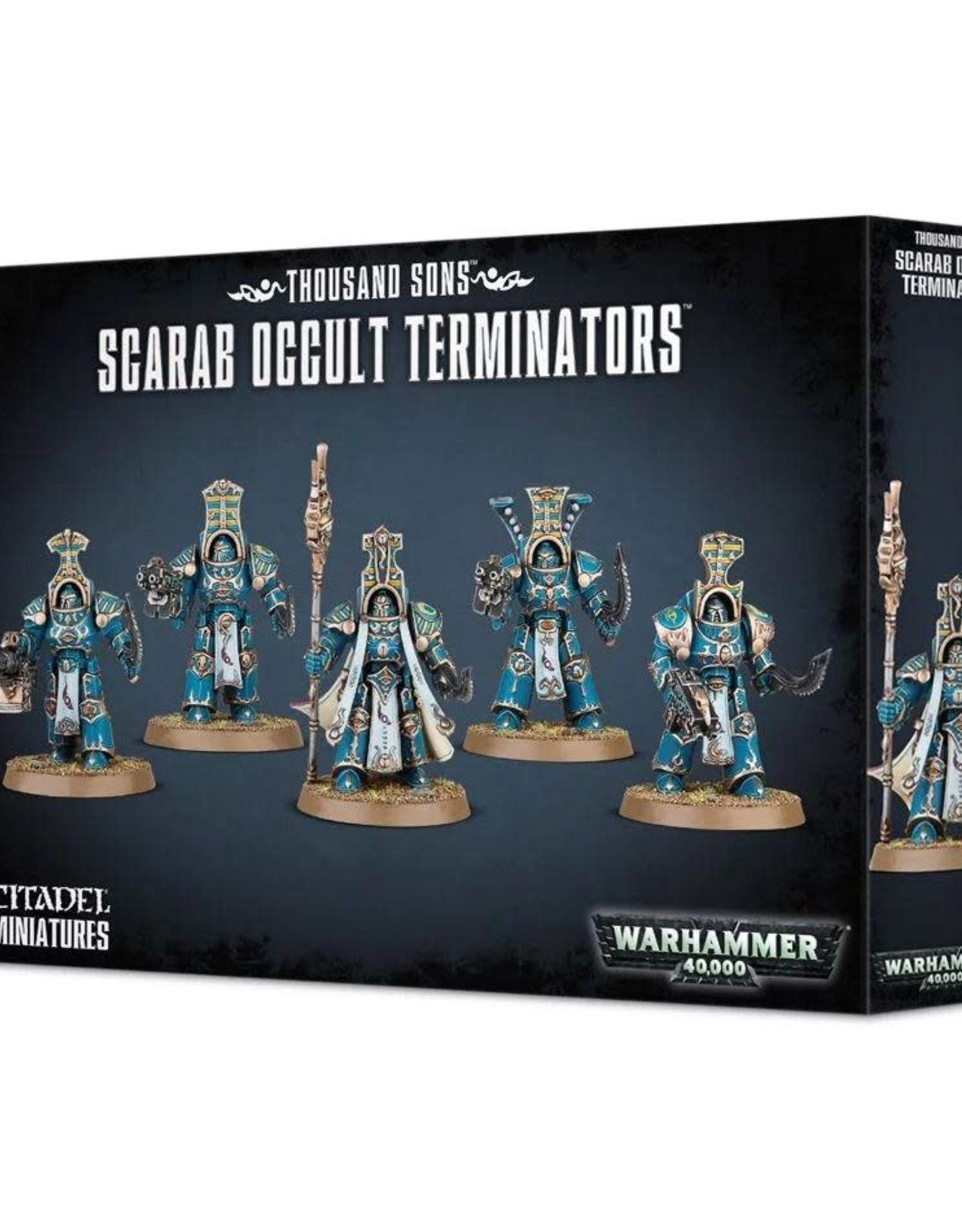 Warhammer 40K Thousand Sons Scarab Occult Terminators