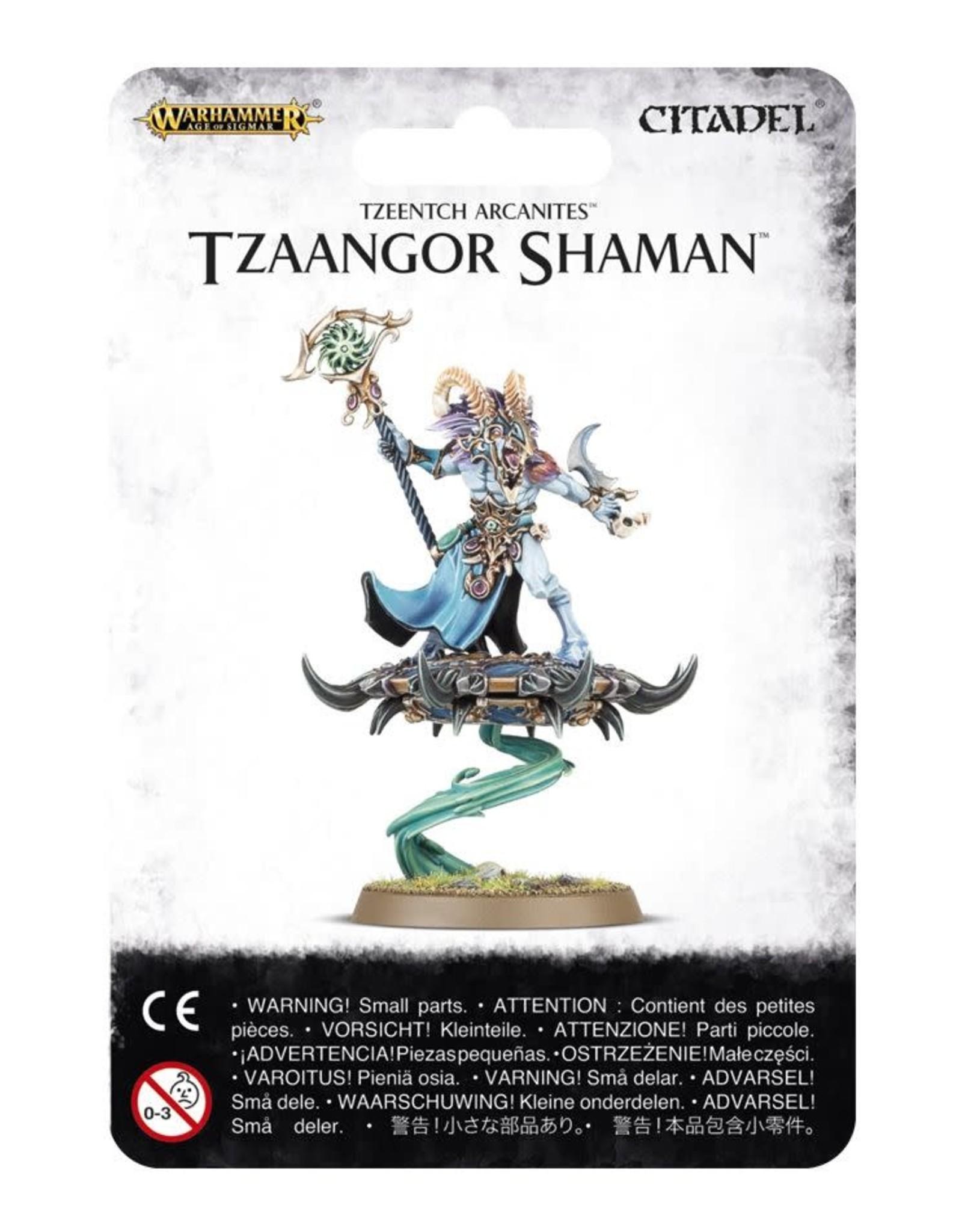 Age of Sigmar Tzeentch Arcanites Tzaangor Shaman