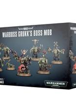 Warhammer 40K Orks Warboss Grukk's Boss Mob