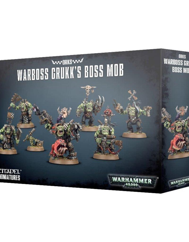 Warhammer 40K Warboss Grukk's Boss Mob