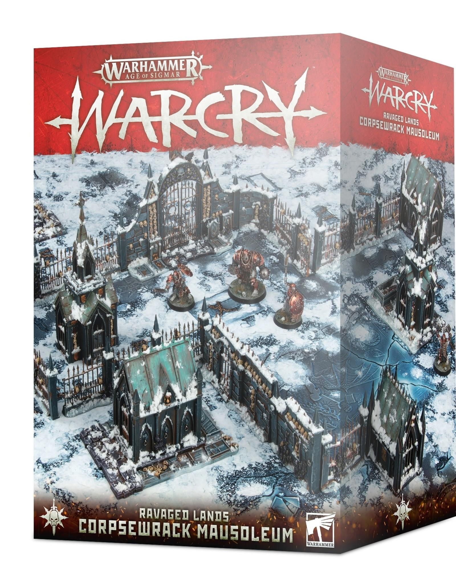 WarCry Warcry Ravaged Lands: Corpsewrack Mausoleum