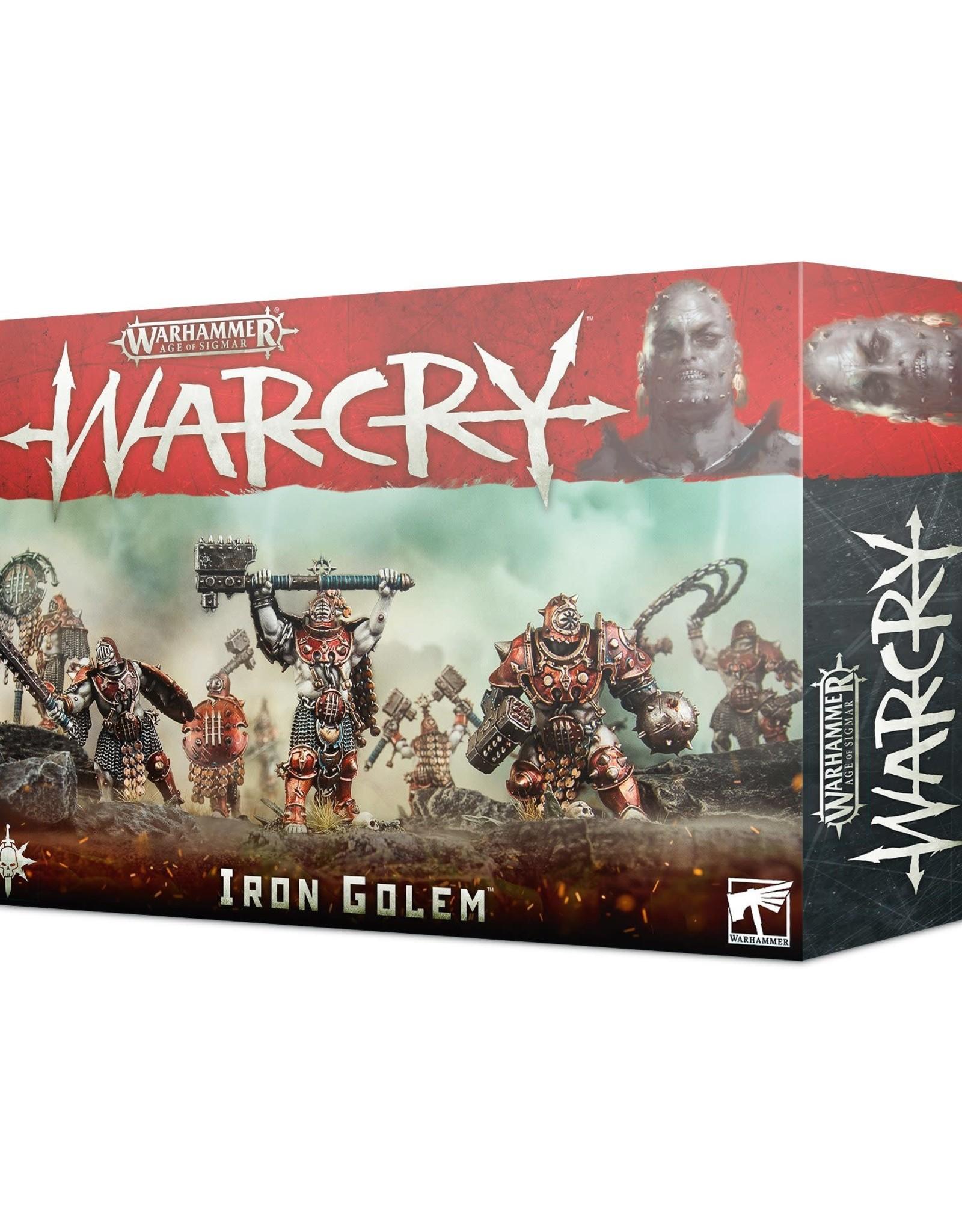 WarCry Warcry: Iron Golem