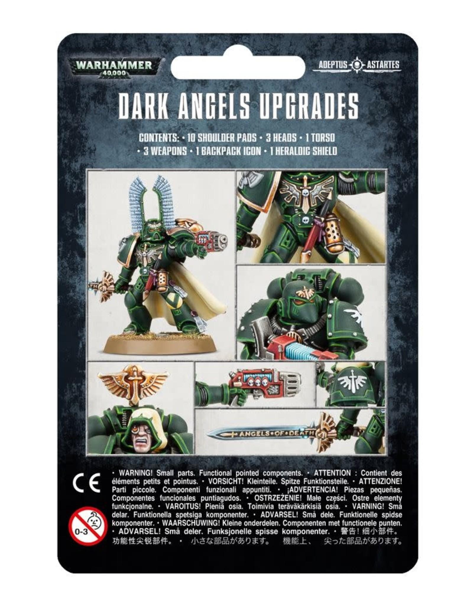 Warhammer 40K Dark Angels Upgrade Pack