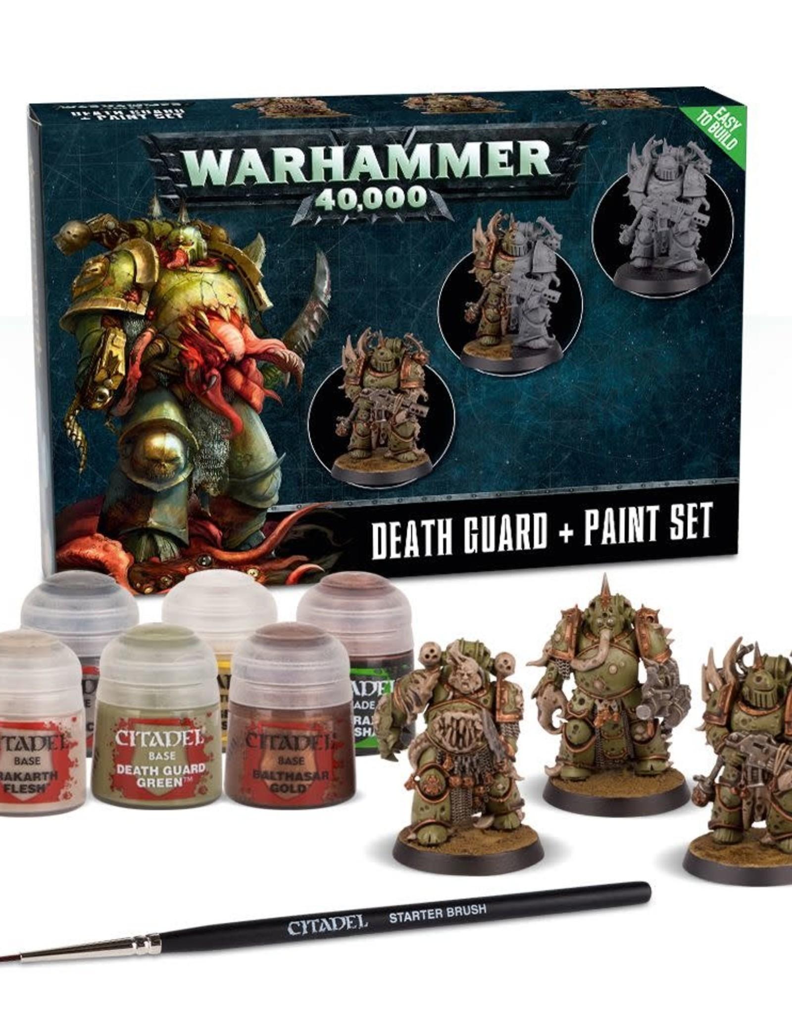 Warhammer 40K Death Guard & Paint Set
