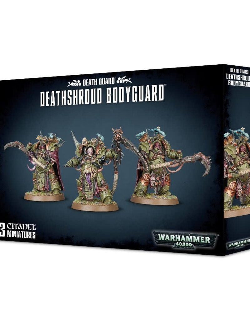 Warhammer 40K Death Guard Deathshroud Bodyguard