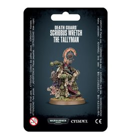 Warhammer 40K Death Guard Scribbus Wretch the Tallyman