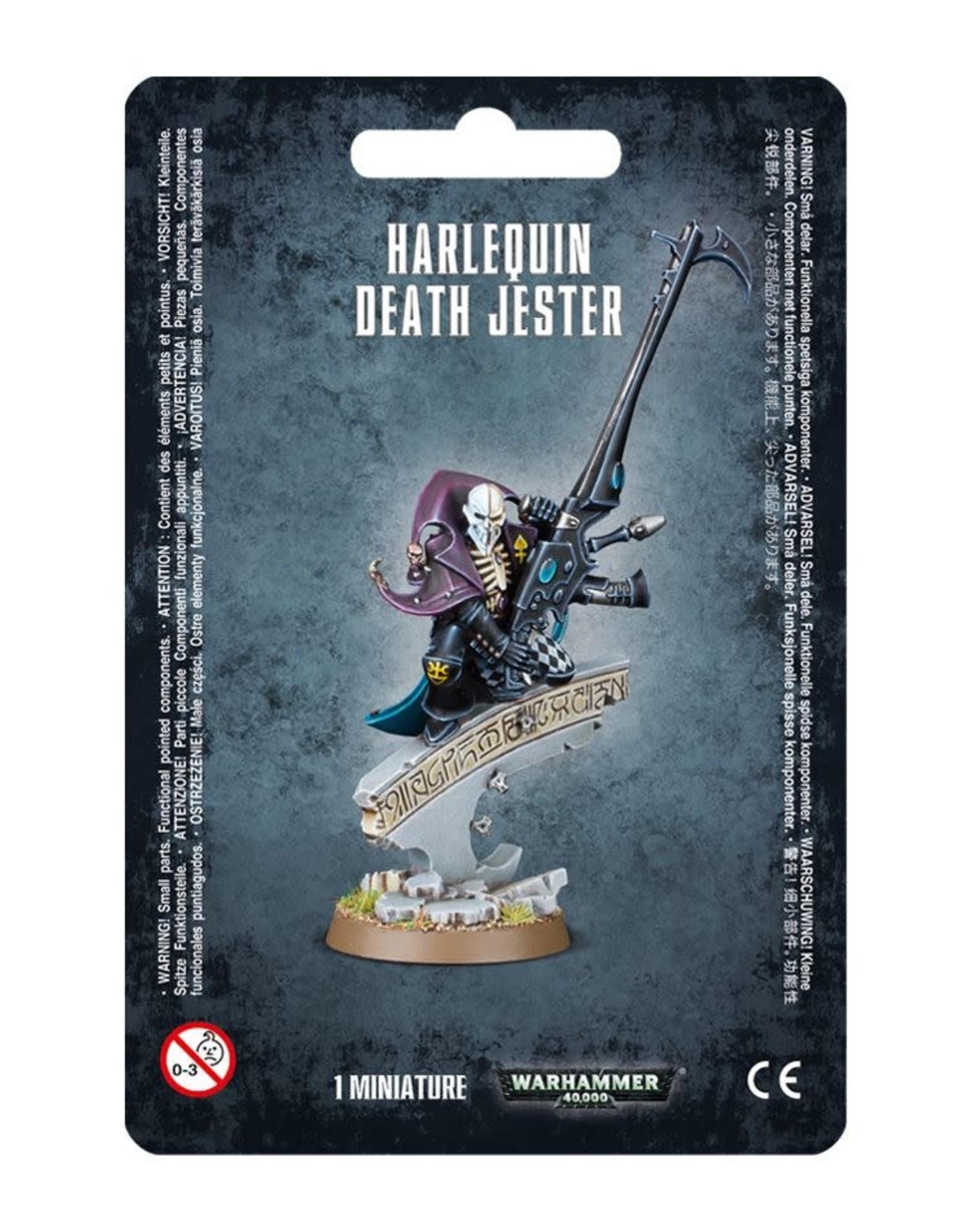 Warhammer 40K Harlequin Death Jester