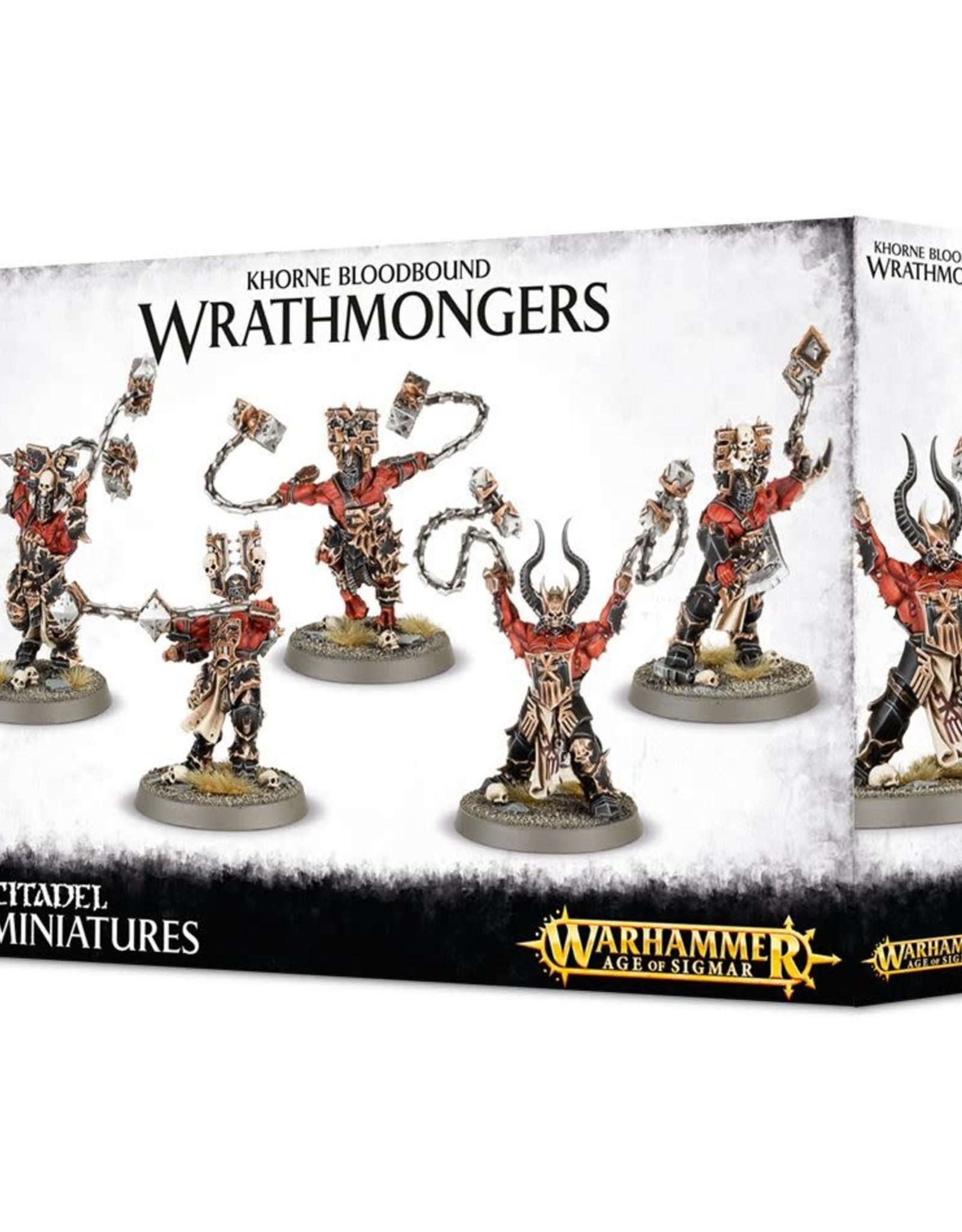 Age of Sigmar Khorne Bloodbound Wrathmongers