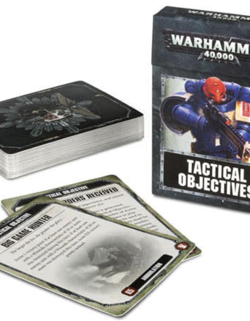 Warhammer 40K 40K: Tactical Objective Cards