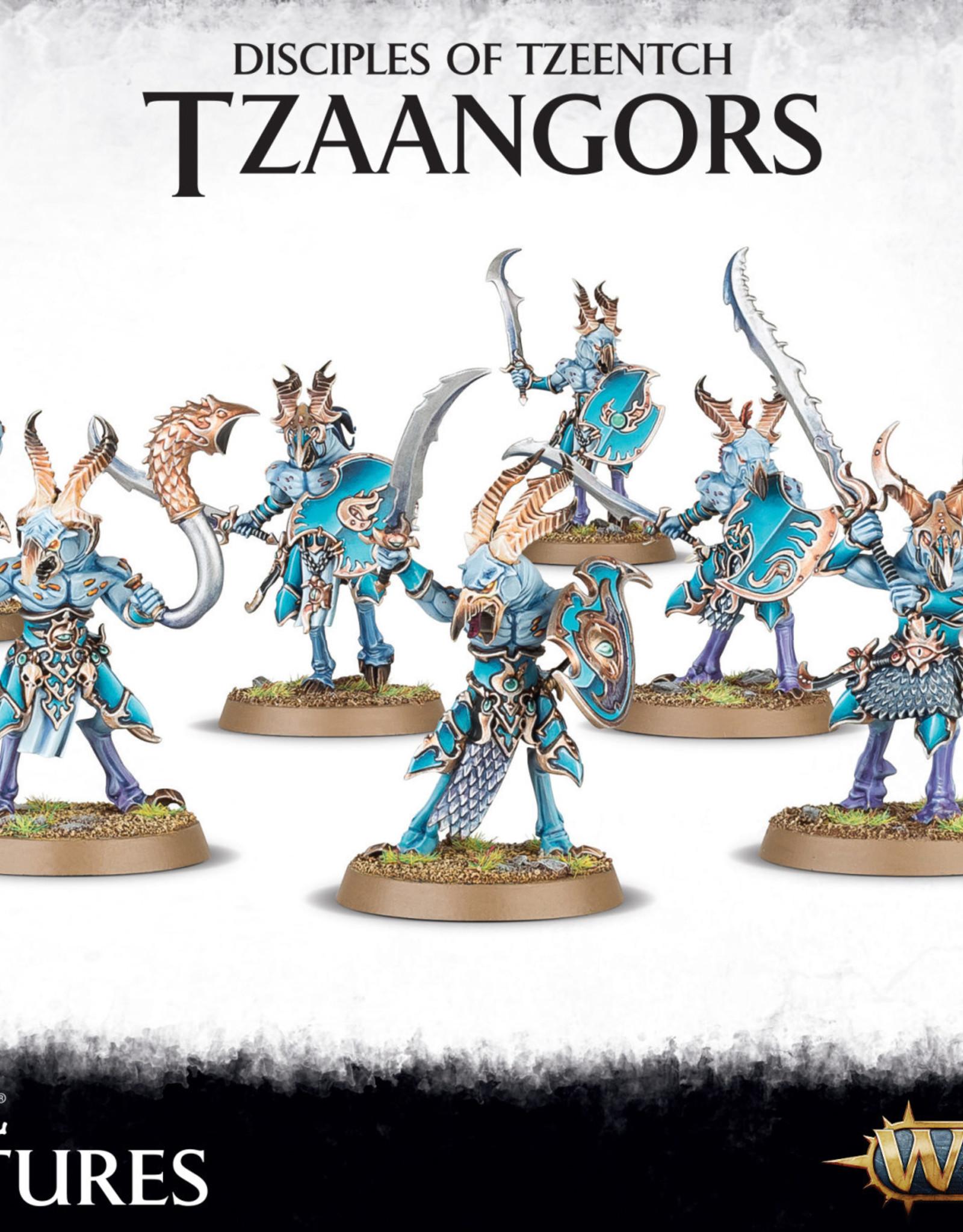Tzeentch Arcanites Tzaangors
